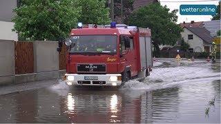 Gewitter und unwetter in bayern (02.07.2019)