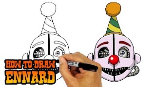 How to Draw Ennard | FNAF Sister Location