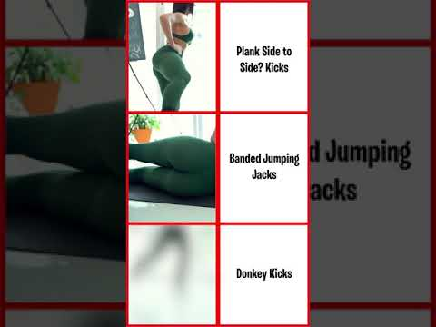 Bubble Butt Workout 2021 - 1 minute exercises to do at home #Shorts