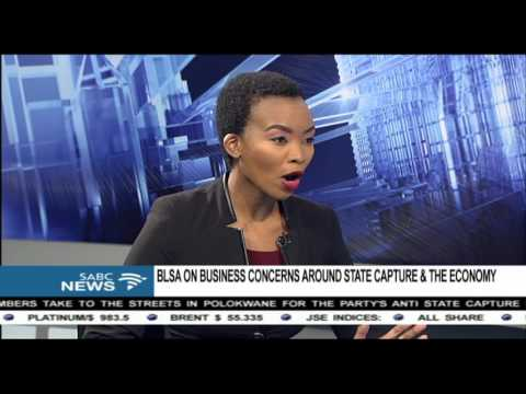 BLSA concerned about state capture and the economy