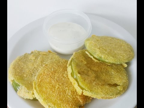 Fried Tomatillos, Fried Green Tomatoes, Cookin 4 Your Man