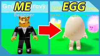 Diventare un uovo in Roblox Egg Simulator