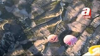 Turkey hot air balloon crash filmed from above