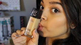 Maybelline Fit Me Dewy Foundation Review