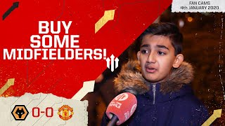 WE NEED MIDFIELDERS! Wolves 0-0 Man United Fancam