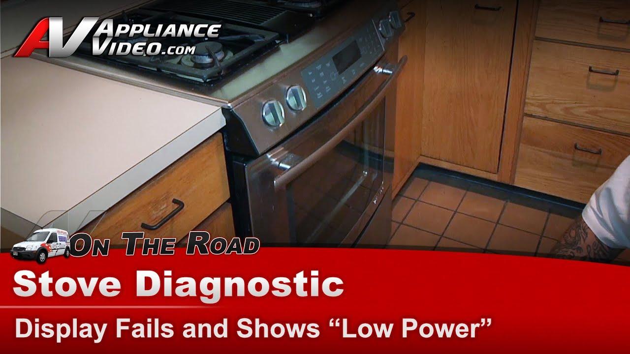 stove oven range diagnostic display error jenn air whirlpool maytag