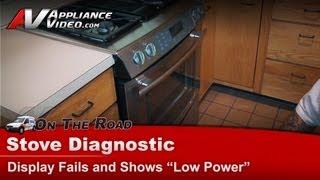 stove oven range diagnostic display error jenn air whirlpool maytag kitchenaid roper jds9860cds01