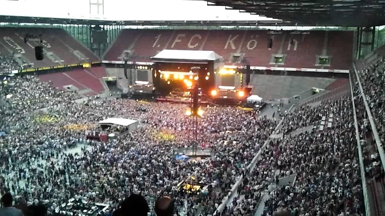 Bruce Springsteen Koeln 27.05.2012 Rhein Energie Stadion