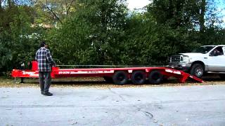 For sale EQUIPMENT TRAILER 10 TON (PRICE REDUCED SUPER DEAL)