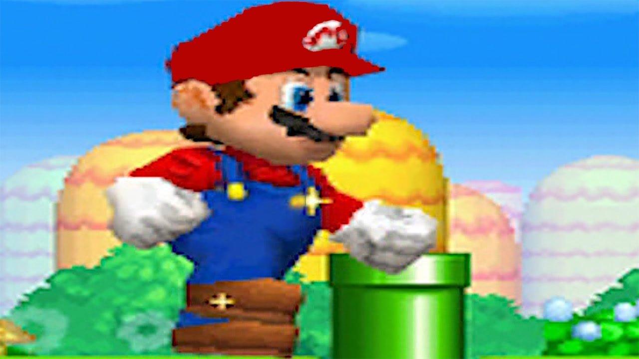 New Super Mario Bros Ds Almost Full Game Walkthrough