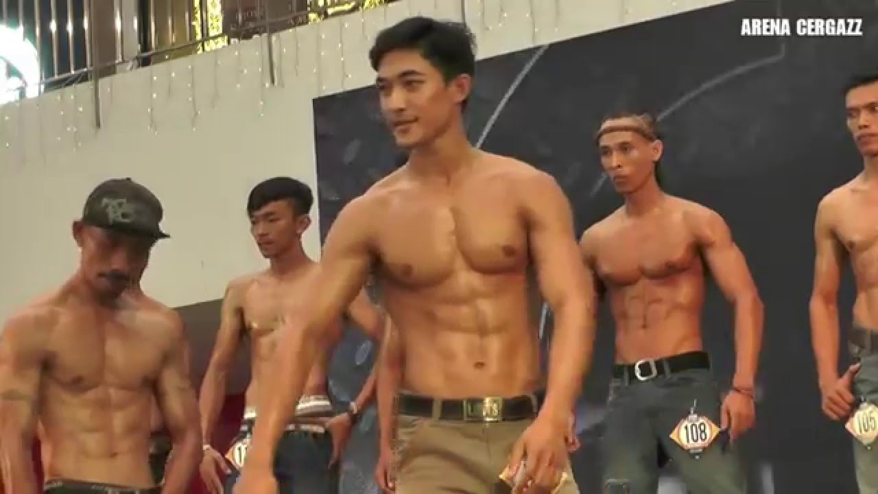 Indonesian muscle men