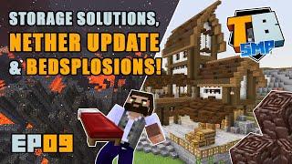 1.16 Nether Update & Storage Warehouse! | Truly Bedrock Season 2 [09] | Minecraft Bedrock SMP