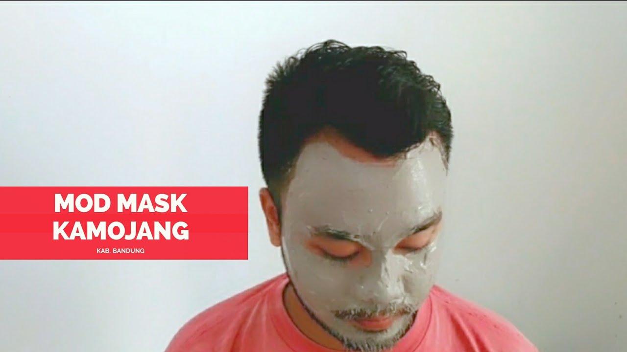 Masker wajah dari lumpur sulfur kawah kamojang