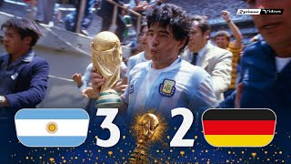 Argentina 3 x 2 Germany ● 1986 World Cup Final Extended Goals & Highlights HD