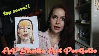 mein AP studio art-portfolio (Zeichnung + top-score)