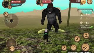 Кэт сим сумулятор кота битва с гориллы босс круче крокодила