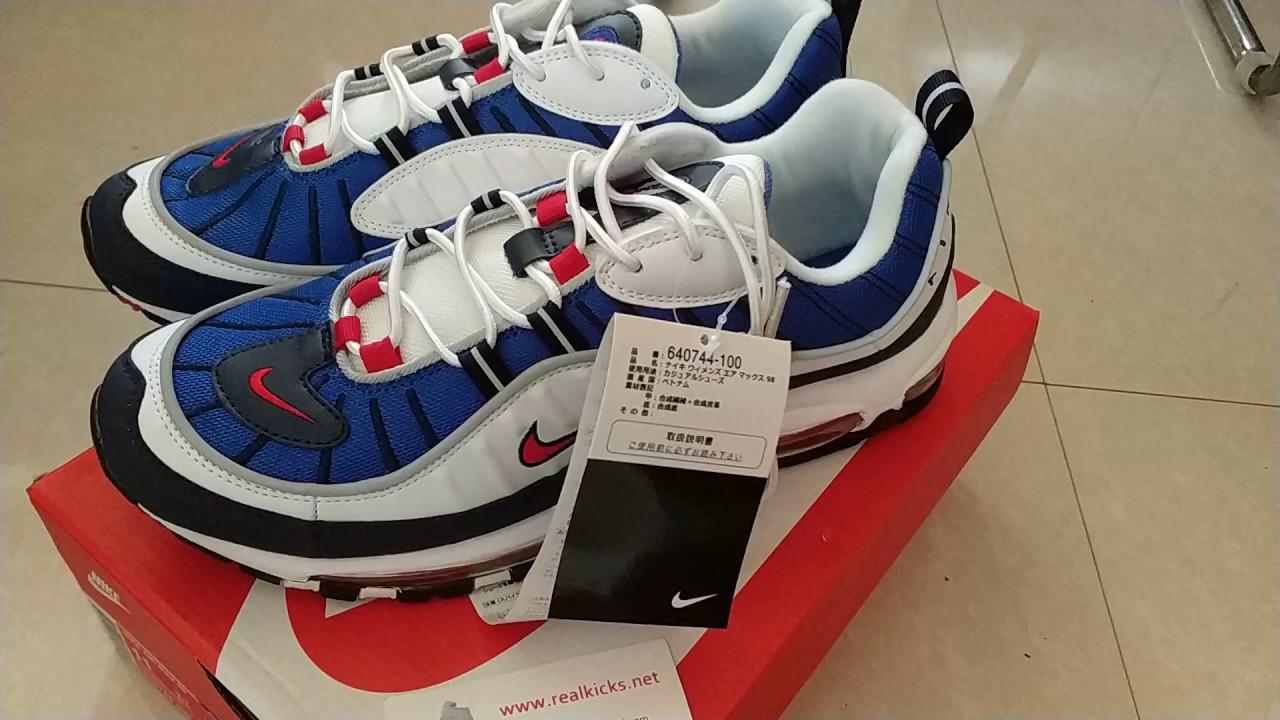 Nike Air Max 98 640744-064 - YouTube 61cc39300