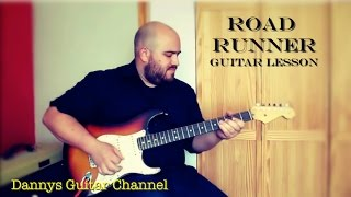 Bo Diddley - Road Runner - Blues Guitar Lesson