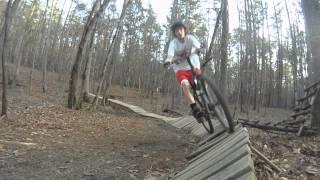 286 Mountain Bike Trail Umstead Park Raleigh , NC GoPro HD
