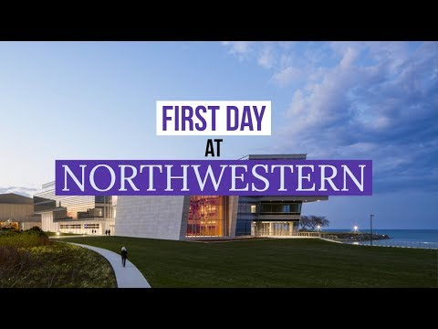 First Day of Classes at Northwestern University