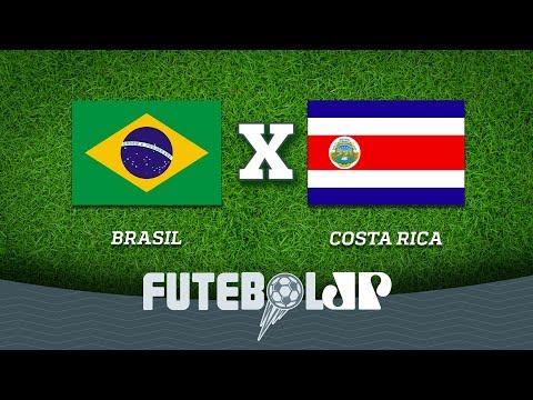 Brasil vs. Costa Rica: El giga costa rica