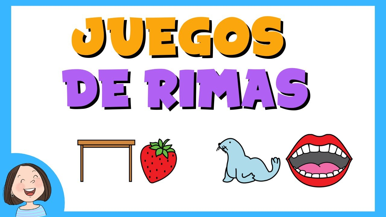 Juegos De Rimas Para Ninos Conciencia Fonologica Youtube