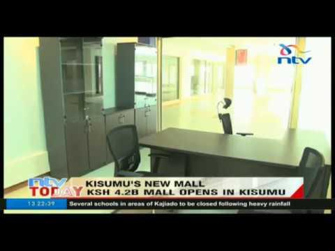 Ksh 4.2B mall opens in Kisumu