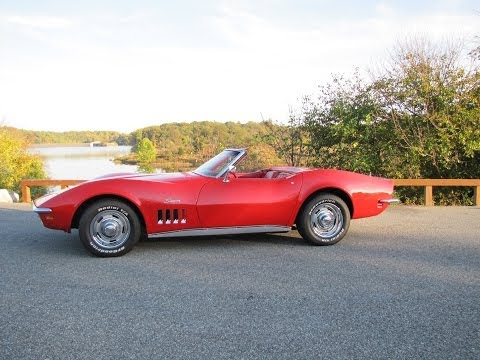1969 Corvette Roadster 4 Speed SOLD @ Erics Muscle Cars
