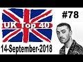 UK Top 40 Singles Chart 14 September, 2018 № 78
