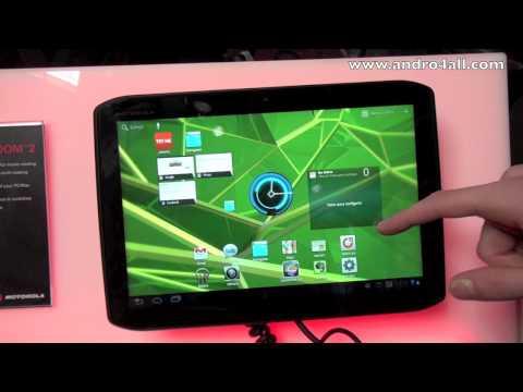 Motorola XOOM 2 Video clips