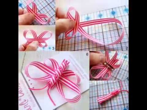 Diy Ribbon Craft Projects Ideas Youtube