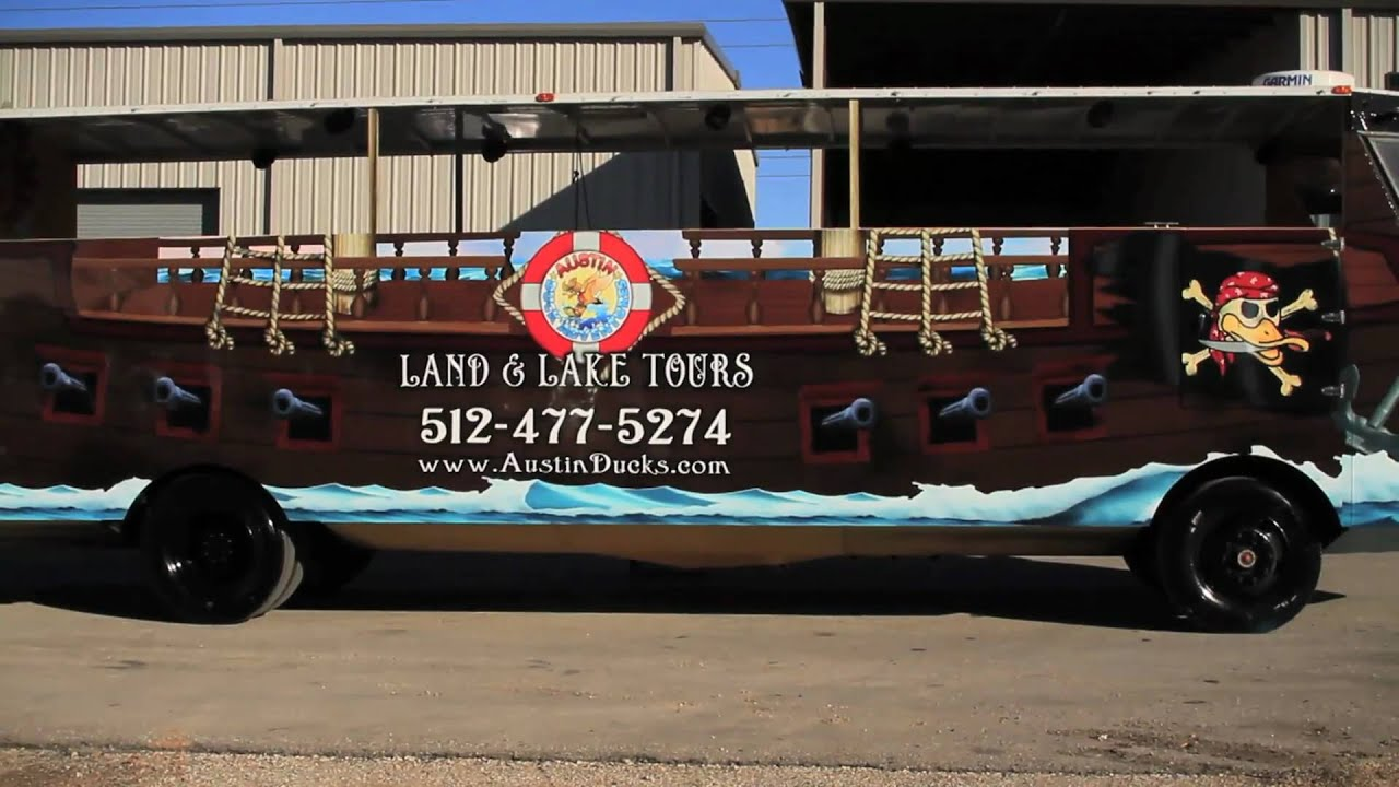 Austin extreme graphics duck adventure vehicle wrap in austin texas youtube