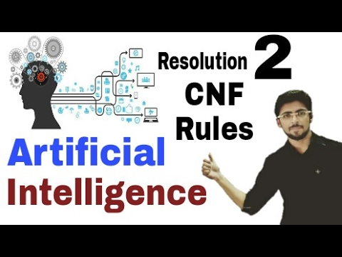 Resolution process in Artificial Intelligence | Rules FOL to CNF  | Part-2 | (Eng-Hindi) | #6