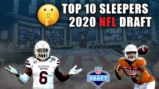 Top 10 Sleepers In The 2020 NFL Draft