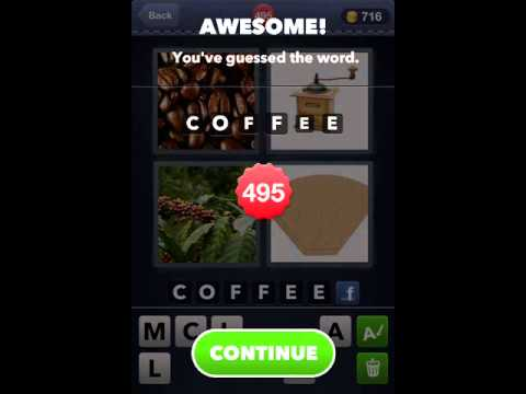 4 Pics 1 Word Level 491 500 Answer Guide Youtube