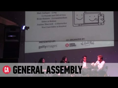 General Assembly Tech Panel: The Future of Digital Media