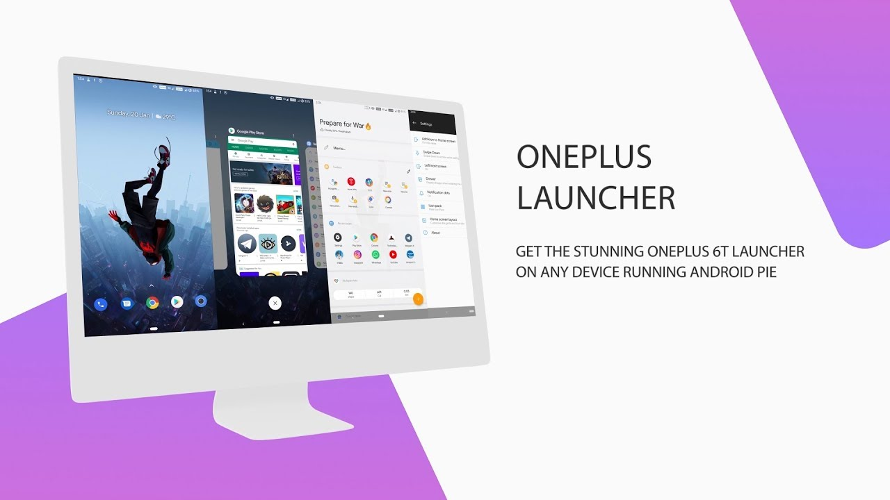Install Oneplus Launcher and Oneplus Recents In Any Android Phone Running  PIE [Root]