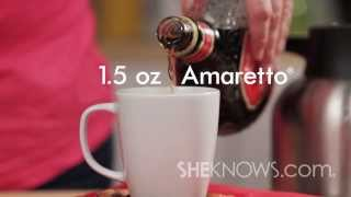 Make An Amaretto Coffee