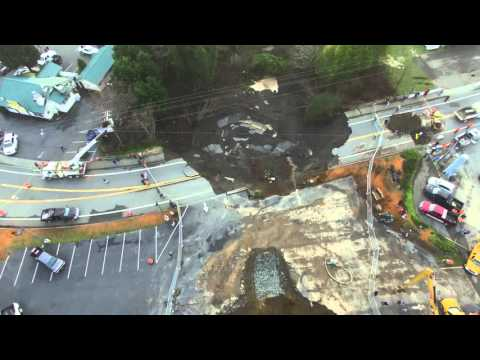 Harbor Sinkhole Update - 1/28/2016