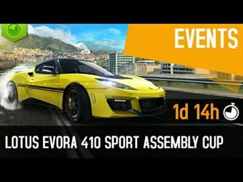 Asphalt 8 - Nevada 1:02:601 | Lotus Evora Sport 410