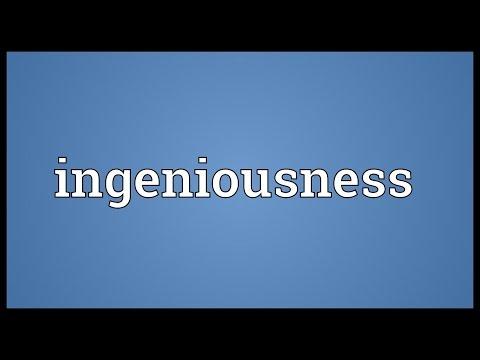 Header of ingeniousness