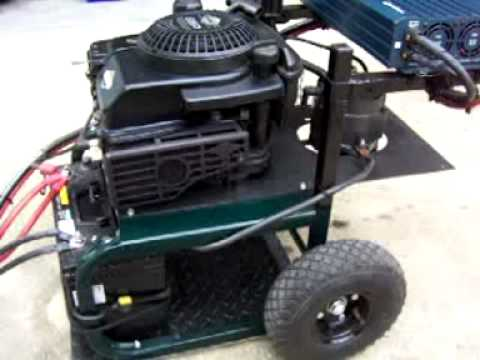 how to make a homemade generator with a alternator