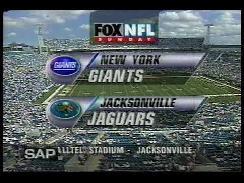 NFL on FOX - 1997 Week 2 Giants vs Jaguars - open