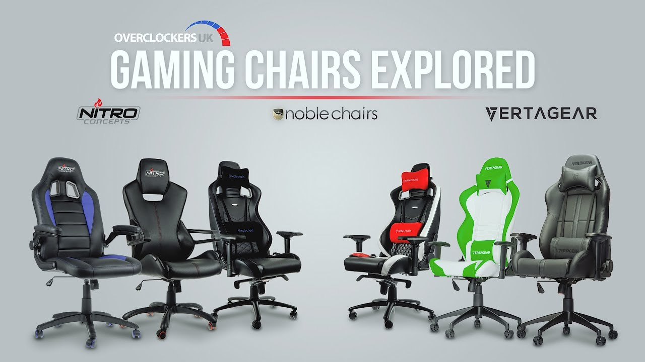Gaming Chairs Explored - What's right for you?