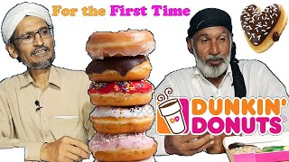 Tribal People Try Dunkin Donuts for the First Time