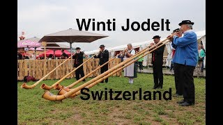 Yodeling and alphorns in Switzerland