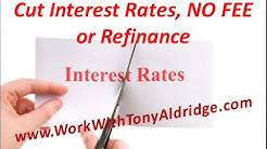 Mortgage, How to cut your interest rate without refinancing or paying fees.