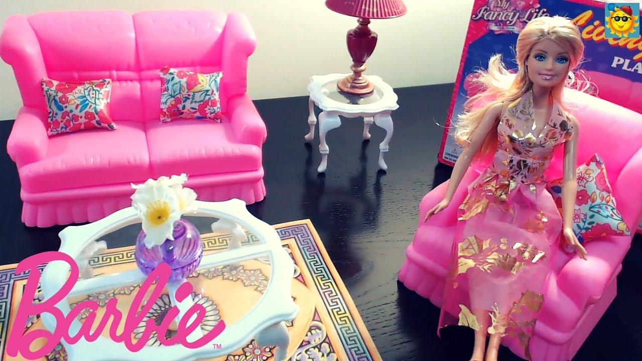Juegos de Barbie - La Barbie en la Sala - YouTube