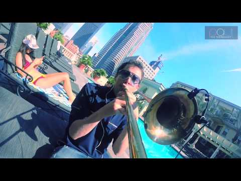 trombone gopro - Blank Space on Trombone - Taylor Swift Cover