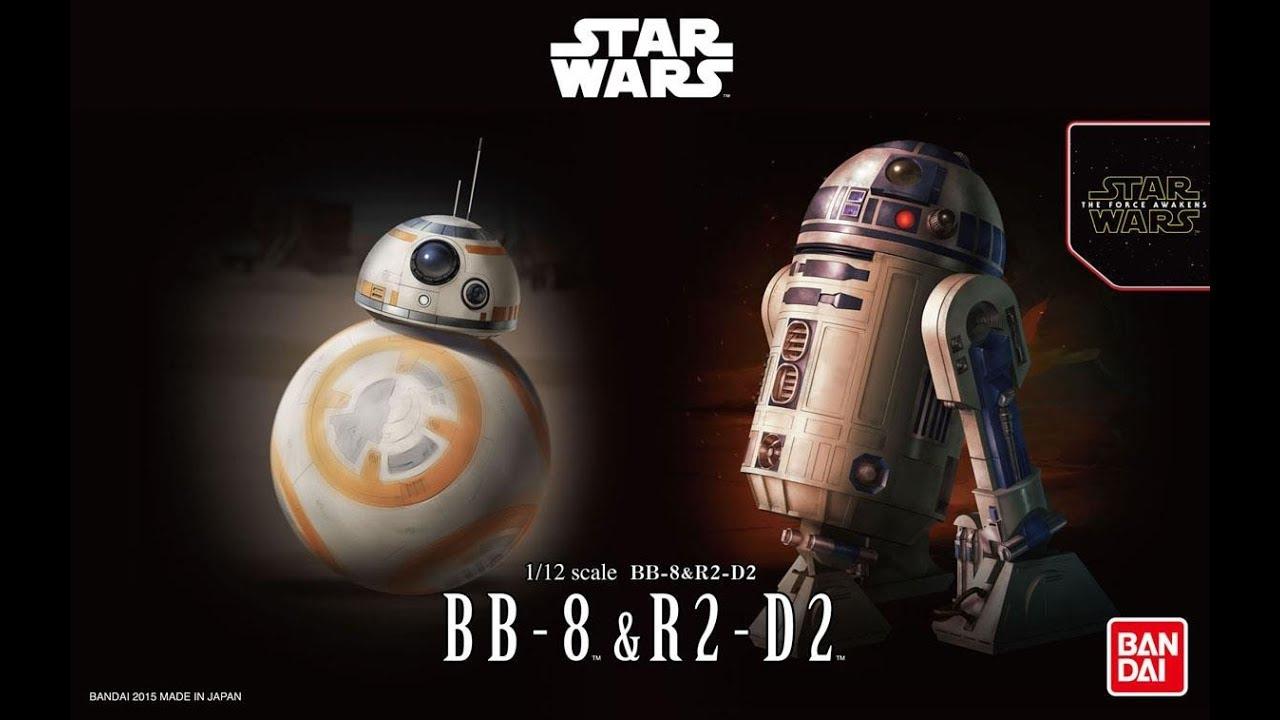 BB-8 Star Wars 1:2 Plastic model kit by Bandai